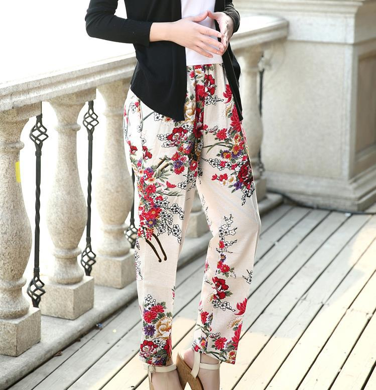 womens summer dress pants - Pi Pants