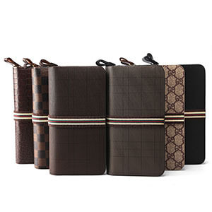 Classic Designer Plaid Mens Wallets,2014 Fashion Luxury Brand Long PU Leather Carteira Masculinas Card Bags<br><br>Aliexpress