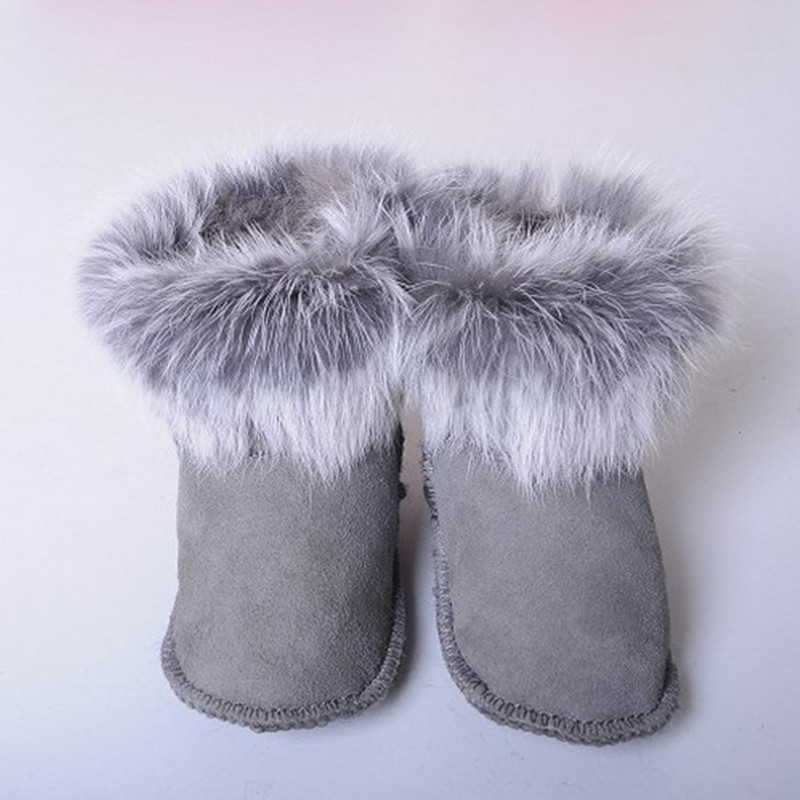2016 Winter Snow Baby Boots With Fur First Walker Baby Girl Baby Boys Shoes Soft Sole Shoes Brand Newborn Baby Girls Shoes Boys(China (Mainland))