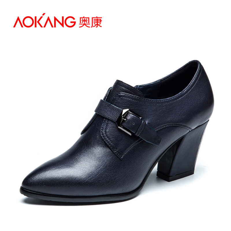 AOKANG 2015New Arrival Ladies shoes British Style shoes High Heels shoes Fashion and Elegant<br><br>Aliexpress