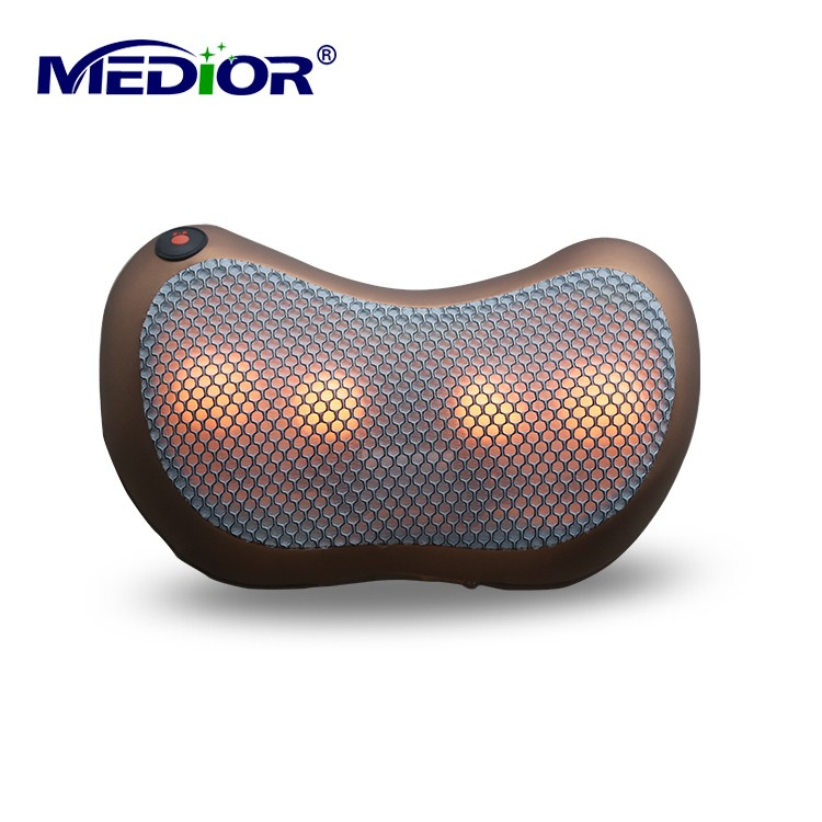 Shiatsu Massager Pillow with Heat Kneading Pillow Massager Machine for Neck Back Leg Massage for Personal Health Care 80160 cheap