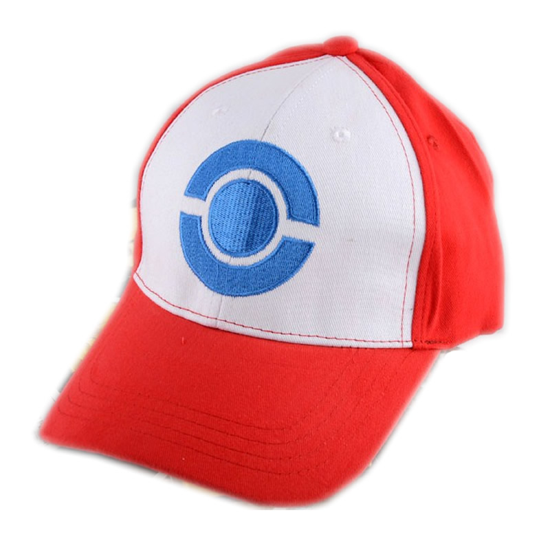 New font b Pokemon b font Go Pocket Monster Satoshi Ash Ketchum Embroidery Costume Cosplay Party