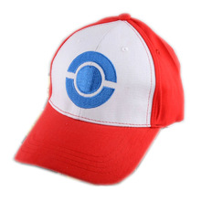 New Pokemon Go Pocket Monster Satoshi Ash Ketchum Embroidery Costume Cosplay Party Cap Hat