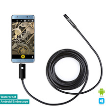 Elecrow 8mm Endoscope OTG Compatible Micro USB Smartphone Wire Camera Waterproof Borescopes Inspection Camera with 6 LED16.4 ft(China (Mainland))