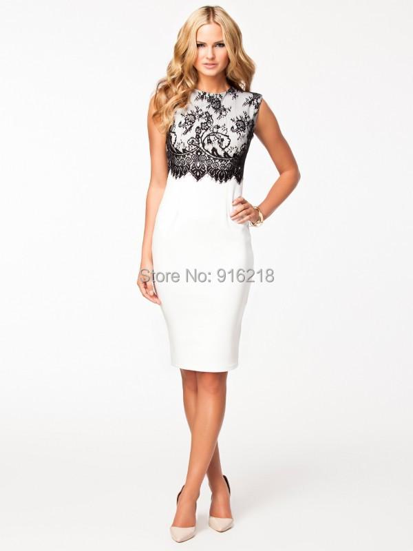 Popular  Knee Length Summer Dress For Woman Dressesin Dresses From Women39s