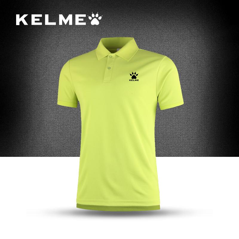 2017 Brand clothing Polo Shirt Men Sports polo shirt Short Sleeve male polo shirt Couple Clothes KELME K15F125(China (Mainland))