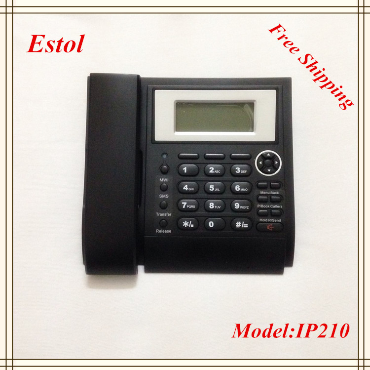 Hot Sale,Elastix compatible,Asterisk SIP IP Telephone,2 SIP and 1 IAX2 Account VoIP Phone,Internet Lan Phone Free Shipping(China (Mainland))
