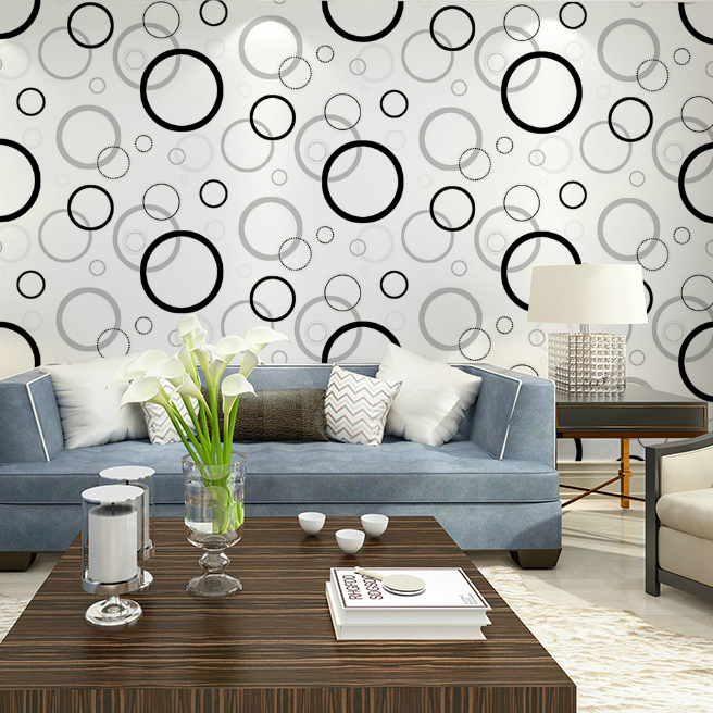 Buy haokhome black white green geometric for Wallpaper home green