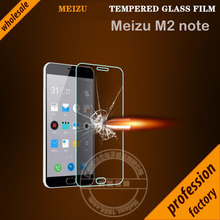 Original Nelanz Brand 9H 2.6mm 2.5d ARC round Anti-Explosion HD Tempered Glass Screen Protector For Meizu M2 Note factory price