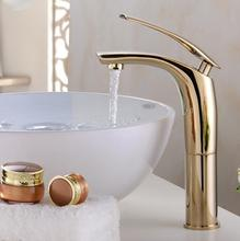Buy Free wholesale Painted Basin Faucets Hot&Cold Mixer Bathroom Basin Tap Brass Gold/Chorme/White/Red Faucet Crane JM2076 for $49.98 in AliExpress store