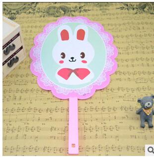 3 Pcs/Lot Cartoon Lovely Stitch Summer Children Boys Girls Cooling Plastic hand Fans MINI Fan(China (Mainland))