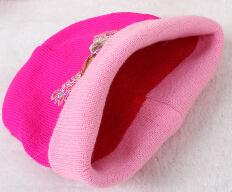 Вязанный хлопок тёплый шляпа для детей 1 - 5 лет младенцы шляпы эльза дизайн дети шляпы мальчики шапки девочки шапки