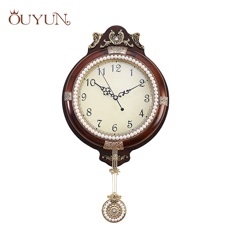 Online get cheap wall clocks pendulum alibaba group - Stylish pendulum wall clock ...