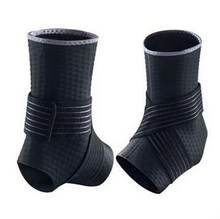 1 pair  ankle basketball football foot cover adjustable neoprene ankle sleeve to protect the ankle(China (Mainland))