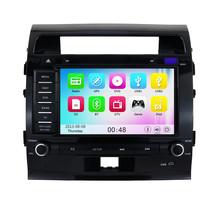 Wince 6.0 3G WIFI Car DVD Player Radio Stereo GPS Navigation For Toyota Land Cruiser 200 2007 2008 2009 2010 2011 2012 2013