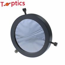Ajustable 81 – 112 mm Solar sun filtrar, Baader planetario amo de la película, para 81 – 112 mm apertura telescopio de Metal