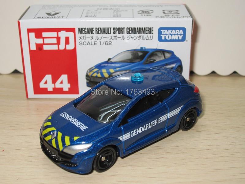 Tomy Tomica #44 MEGANE RENAULT SPORT GENDARMERIE alloy car model(China (Mainland))