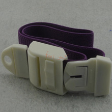 Purple Medical Sport Emergency First Aid Quick Release Tourniquet Buckle With Soft Strap(China (Mainland))