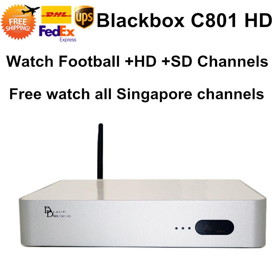 2015 Singapore Blackbox Starhub C801 Cable TV Box HD Video Set Top Box Nagra3 Watch HD singapore IPTV Channel HD-c600 C608 Plus(China (Mainland))