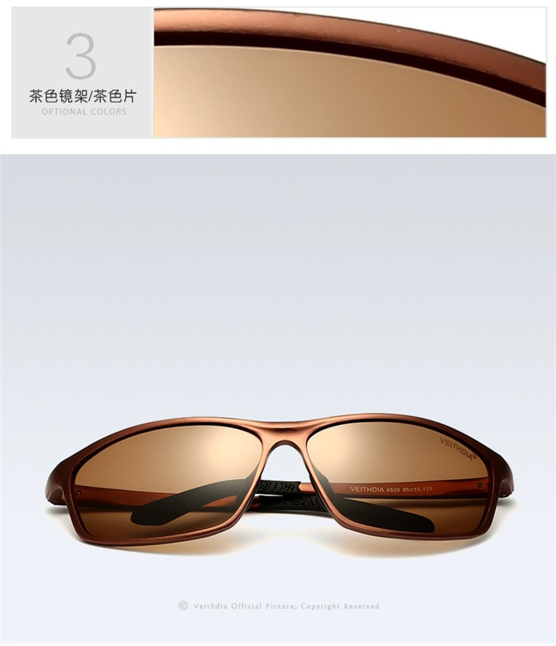 2015 Aluminum Magnesium Alloy Frame Polarized Sunglasses Men's