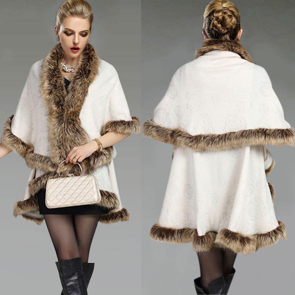 Ladies Long Fur Coats
