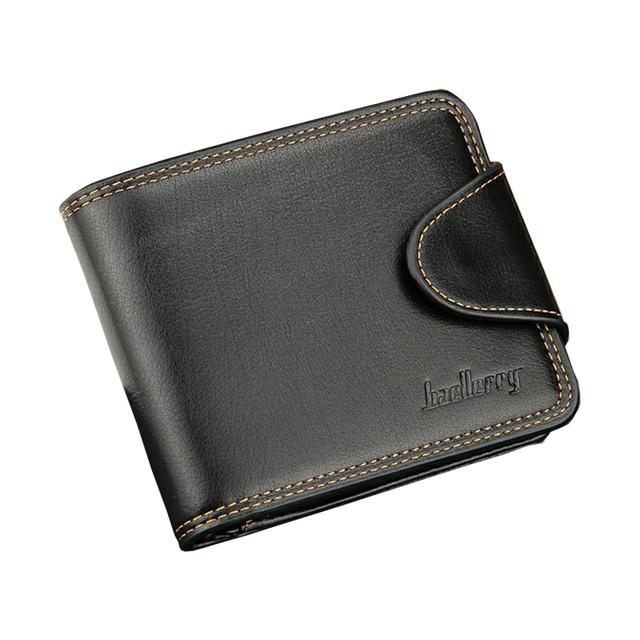 Бренд baellerry новый мужской бумажник 2 цветов деньги держателя твердый кожаный ...