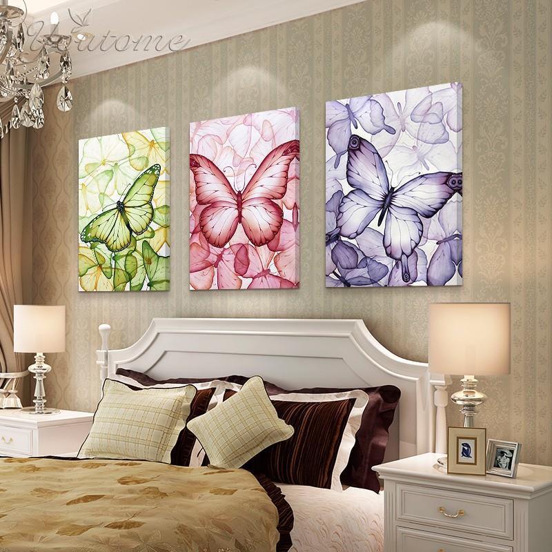 papillon mur peinture achetez des lots petit prix papillon mur peinture en provenance de. Black Bedroom Furniture Sets. Home Design Ideas