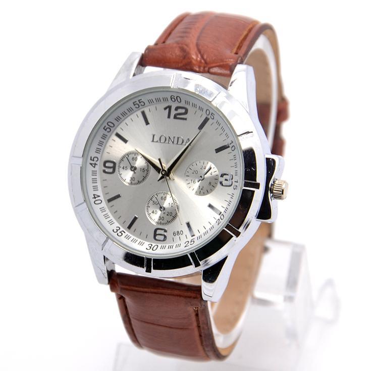 New Design Luxury Brand Leather Strap Watch Men Fashion ...