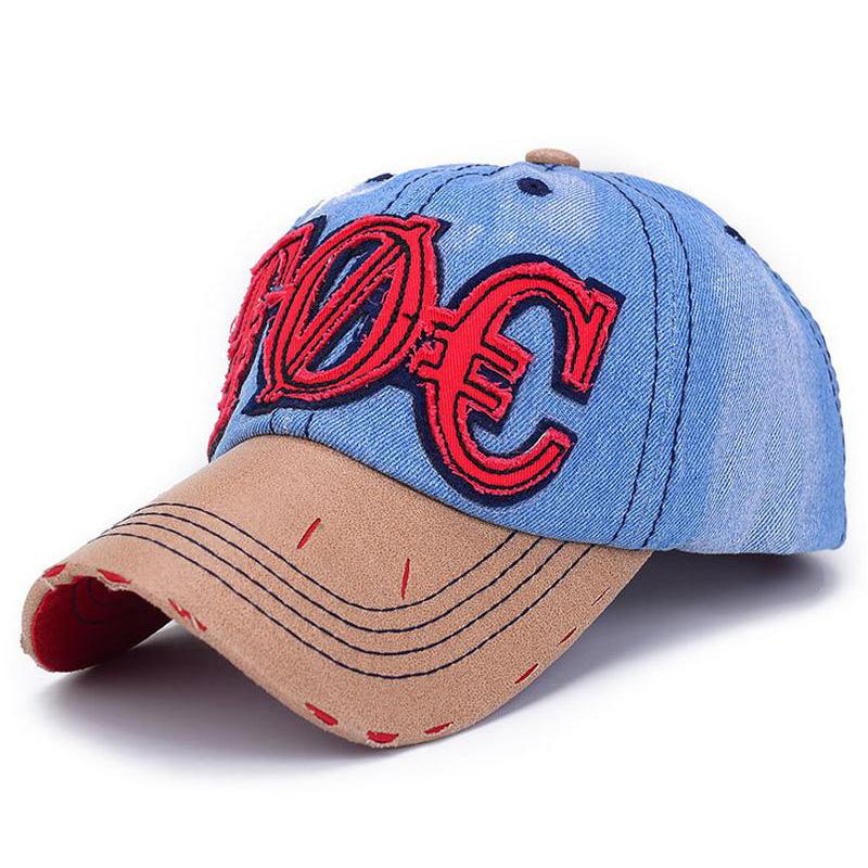 Women's TOC Baseball Cap Sport Bone Summer Cowboy Hat casquettes de basketball Z-1460()