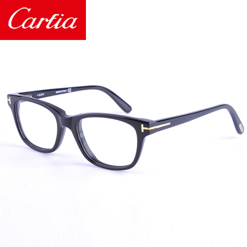 Eyeglasses Optical Frames tf 5207 Glasses unisex eyeglasses gafas  Coolclassic fashion Eyewear black  plank 49mm glasses