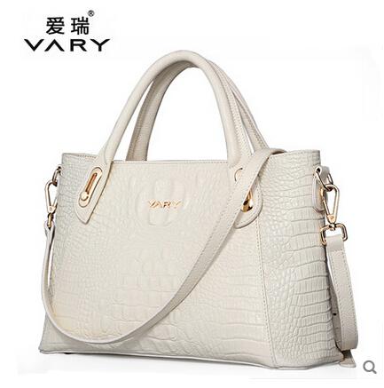 2015 Crocodile women's genuine leather handbag cowhide bags handbags women famous brand crossbody shoulder bag bolsas femininas