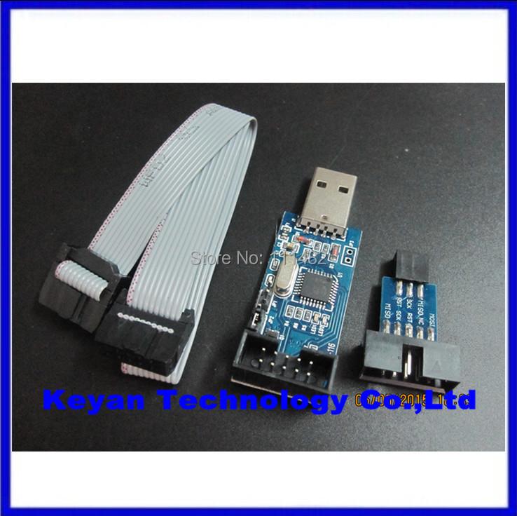 2PCS =1PCS YS-38 USBASP USB AVR Programmer for Atmel USB ASP USBISP ISP Bootloader NEW + 1PCS 10PIN TO 6PIN ADAPTER(China (Mainland))