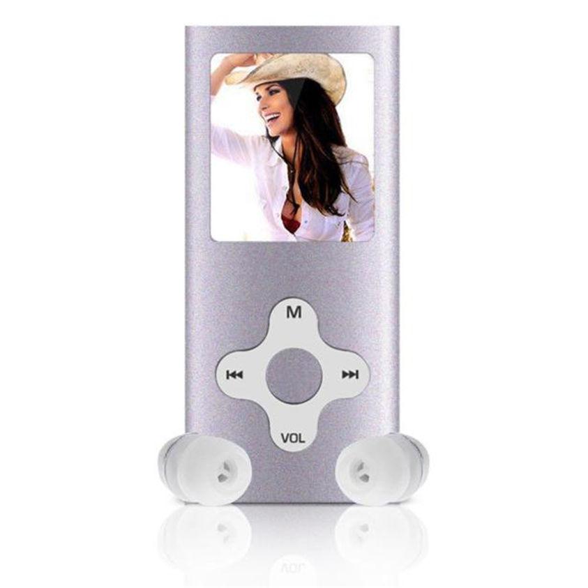 HL 8GB Slim Digital MP4 Player 1.8INCH LCD Screen FM Radio Video Games Movie Mar24(China (Mainland))