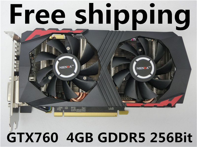 New Original upgraded Nvidia Geforce GTX GTX760 4096MB GDDR5 256bit 980/6008MHz independent Game Graphics Cards Free Shipping(China (Mainland))