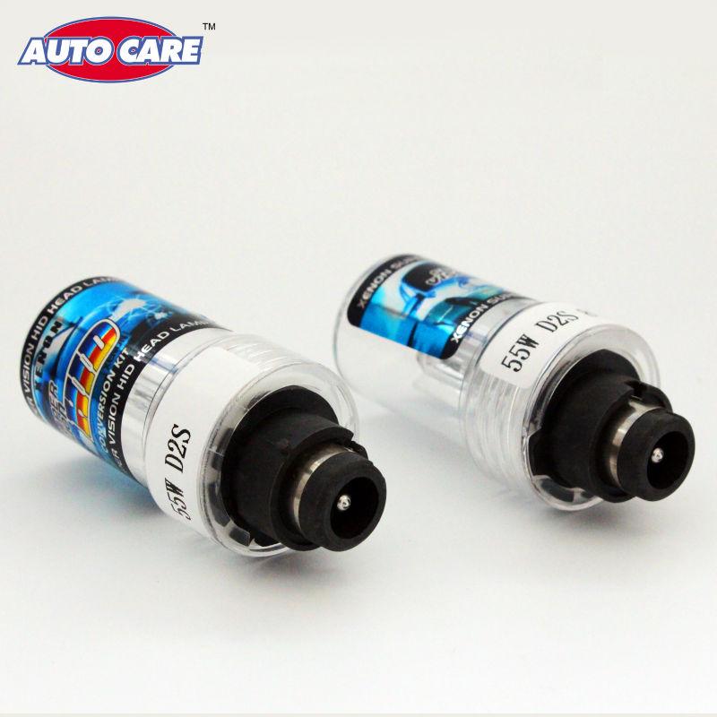 Auto Care 2pcs D2S D2C 55W 12V Car HID Xenon Bulb Replacement Headlight Lamp Auto Light Source 3000K 4300K 5000K 6000K 8000K