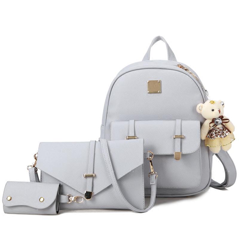 Bolsa De Ombro Feminina Para Faculdade : Bolsas mochila de couro vender por atacado