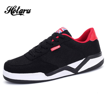 Mens Fashion Breathable Air Mesh Lace-Up Casual Nubuck Leather Trainers Shoes Flat Insole European Style Durable Designer - YIMA store