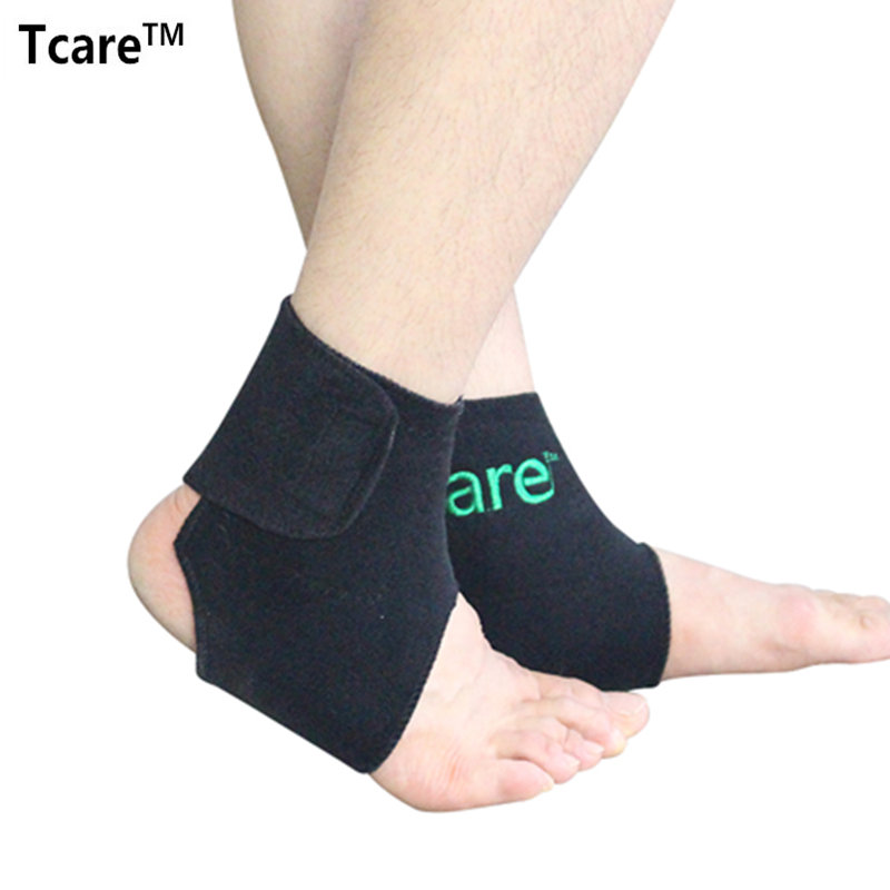 1 Pair Tcare New Health Care Self-heating Tourmaline Ankle Brace Support Tourmalin Belt Magnetic Therapy Ankle Massager(China (Mainland))