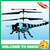 Subootoys S700 Red Dragonfly 4.5ch RC Toy Helicopter