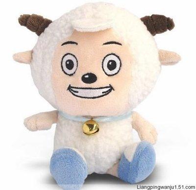 25cm lovely sheep plush toy Movie anime cartoon pleasant goat doll gift w5359(China (Mainland))