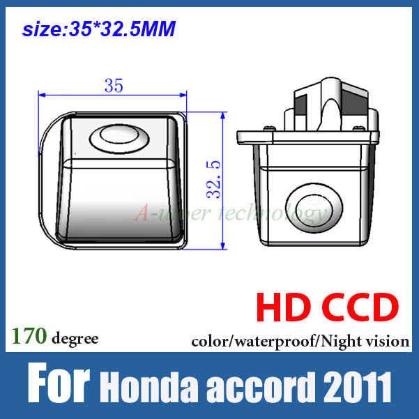 Ccd Hd Color Car Backup Camera Reverse Parking System For