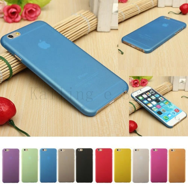 Ultra Thin Plastic Soft Skin Back Case Cover for iPhone 6 PLUS 5.5 inch Phone Case Accessories For Iphone6 Plus(China (Mainland))