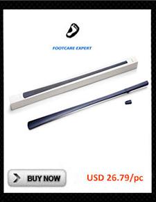 Solid Ultra Long 52 cm Shoe Spoon Schima Wood Wenge Wooden Shoe Horn Professional Wooden Long Handle Shoe Horn Shoe Lifter