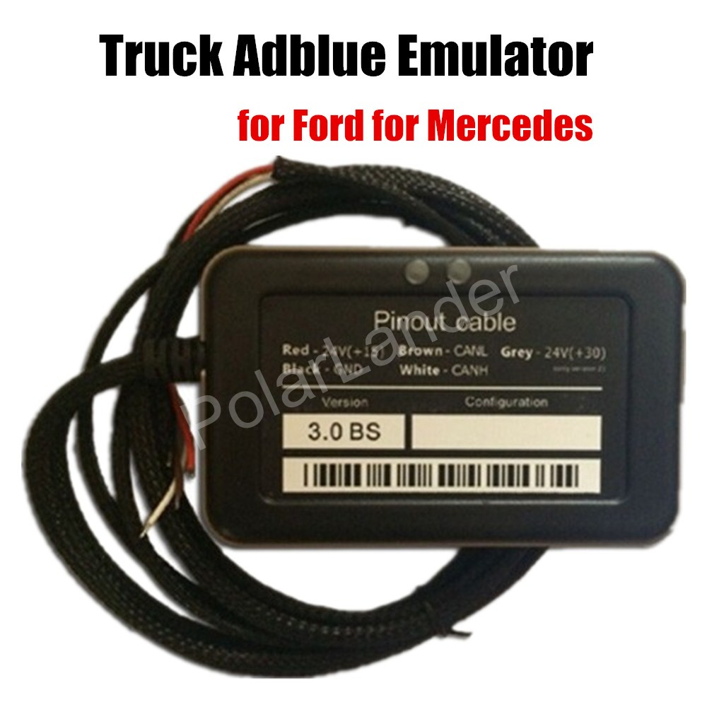 Truck Adblue Emulator 8-in-1 car code reader scanner diagnostic tool scan For Mercedes for Volvo for Renault for Ford(China (Mainland))