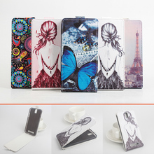 Painted Fashion New Original ZOPO ZP998 ZP999 Leather Case Flip Cover ZP 998 999 Phone - FKY Group Co., Ltd store