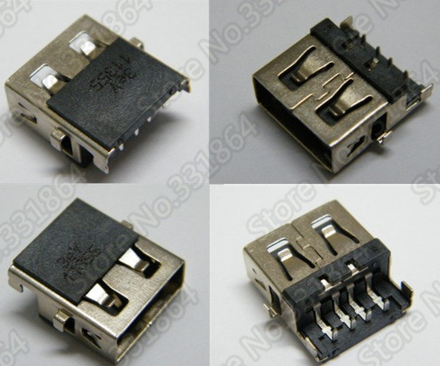 Original 2.0 USB Jack HP G4 G5 G6 G7 G42 G62 laptop motherboard connector