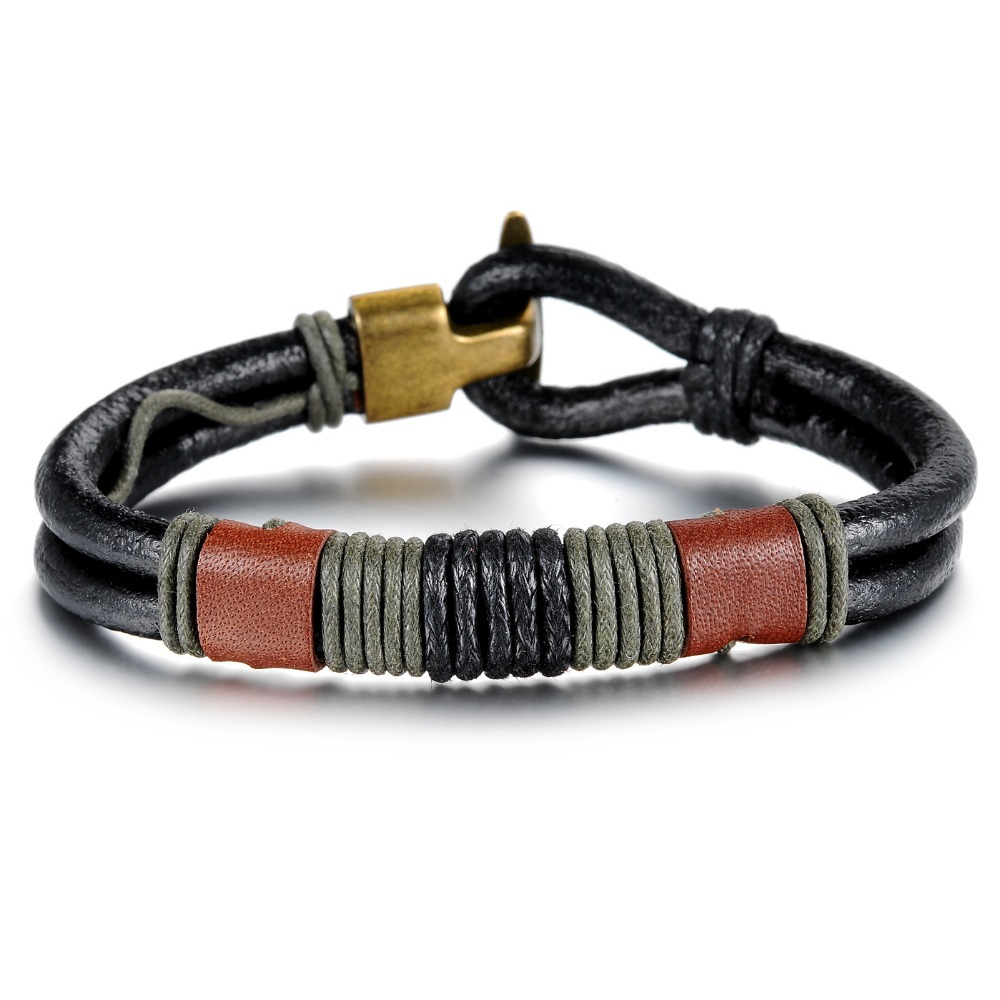 new hot trend fashion jewelry export Europe America leather bracelet Bracelets Accessories PH859 - kiki ( worldwide store)