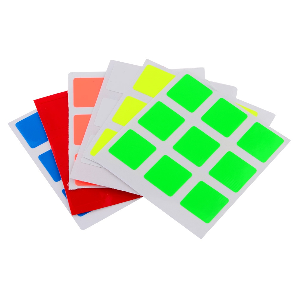 Magic Cube Stickers Fit for 60mm 3x3x3 Moyu Magic Cube(China (Mainland))