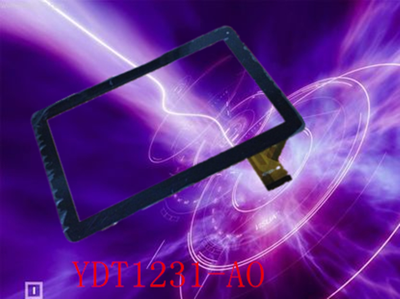 Newman T10 10.1inch YDT1231-A0 BLACK Tablet PC Capacitive touch screen panel glass digitizer(China (Mainland))