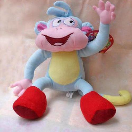 """Гаджет  Dora the Explorer BOOTS The Monkey Plush Dolls Toy 10"""" Super Quality lgf None Игрушки и Хобби"""
